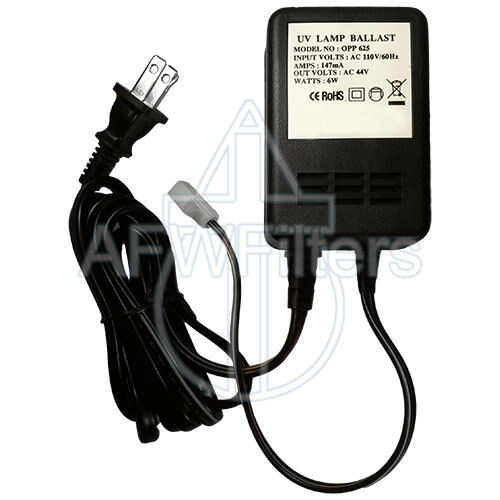 6W UV Transformer for RO Systems 1 GPM 110V