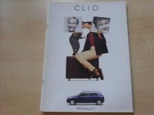 52463) Renault Clio A Ungarn Prospekt 03/1994