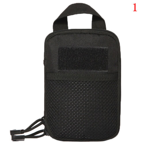 Outdoor Tactical Molle Medical First Aid Edc Pouch Phone Pocket Bag Organizer ZH