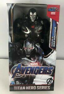 Hasbro-Marvel-Titan-Hero-Power-FX-12-034-inch-Avengers-4-Endgame-War-Machine-Figure