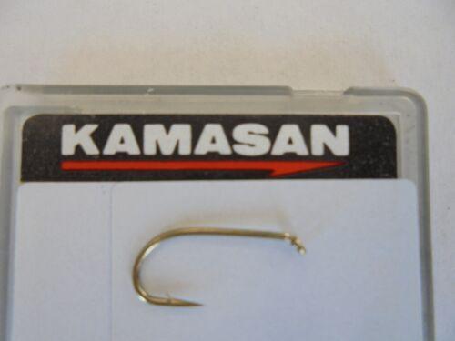 kamasan b175 trout hooks for bait or fly tying size 16  x 50 hooks.