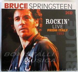 BRUCE-SPRINGSTEEN-ROCKIN-039-LIVE-FROM-ITALY-1993-2-CD-Sigillato