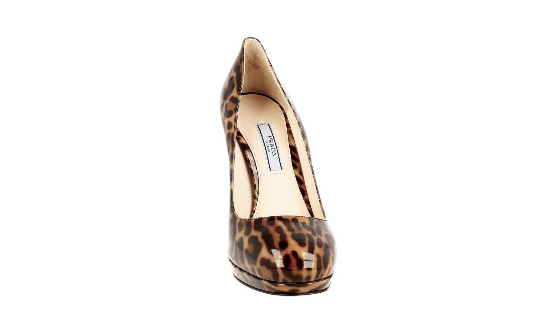 AUTHENTIC LUXURY PRADA PUMPS PUMPS PUMPS chaussures 1IP286 MIELE NEW US 8.5 EU 38,5 39 574667
