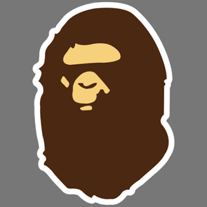 Bape-A-Bathing-Ape-Oil-Slick-Vinyl-Car-Bumper-Sticker-Window-Truck-Laptop-Decal