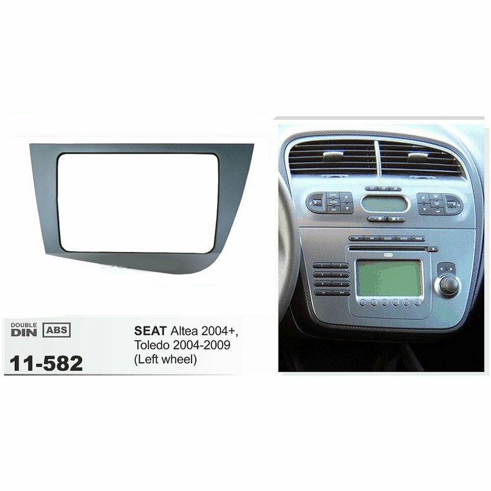 2 Din Fascia Stereo For Seat Leon Left Driving Dash Mount Trim Kit Full Bose Car Cd Fitting Wiring Harness Ebay Norton Secured Powered By Verisign