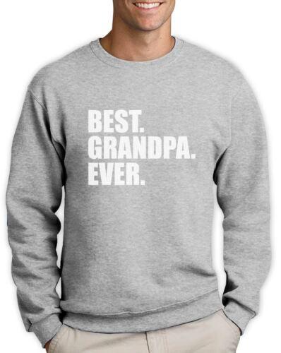 Best Ever Perfect Gift For Grandad From Grandchild Sweatshirt Cool Grandpa