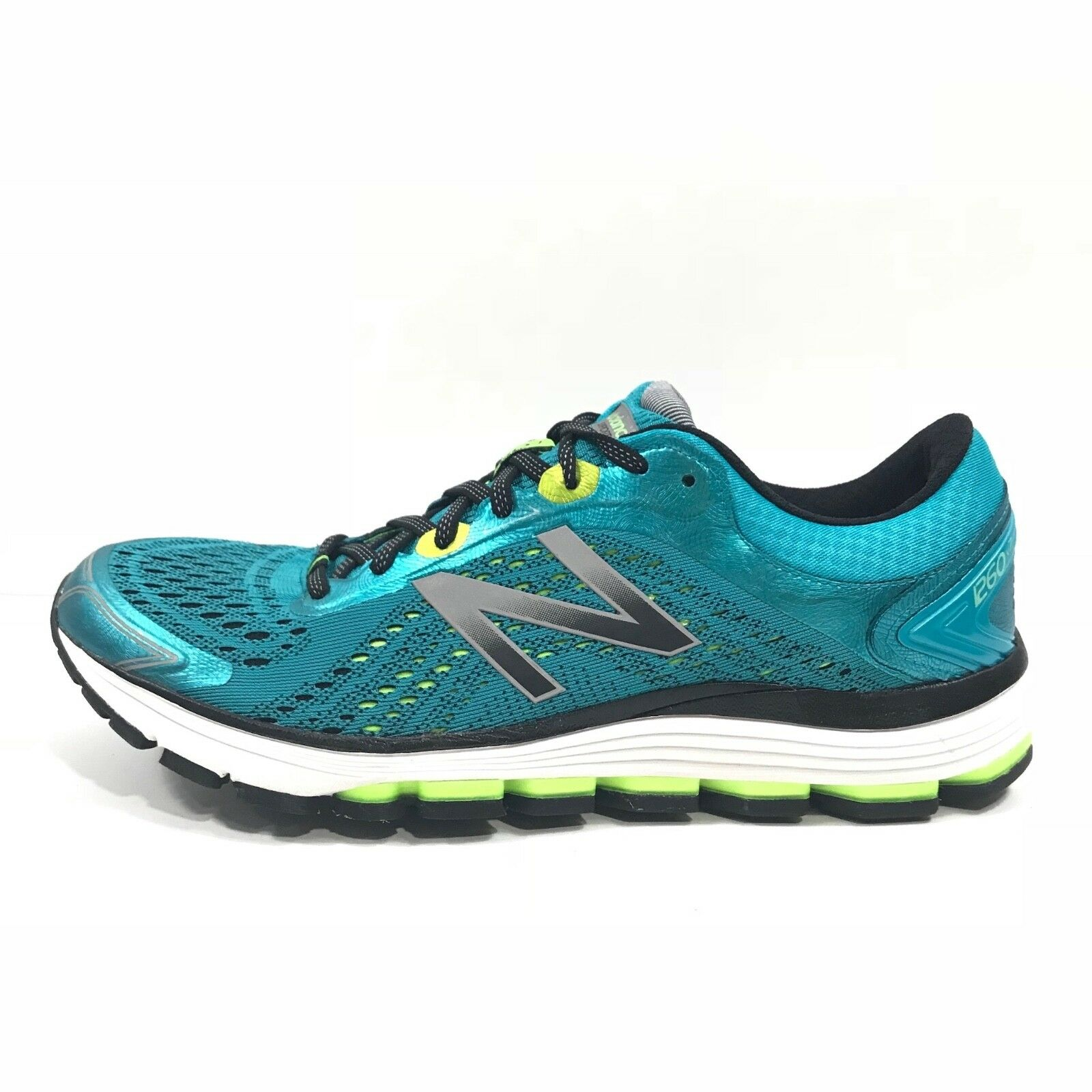 New Balance WMNS 1260v7 Support Athletic Running Shoes Turquoise Sz 11 W1260BY7