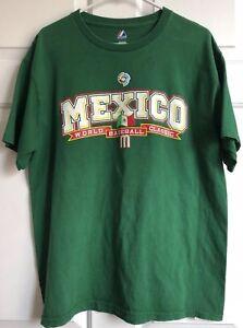 2009-WORLD-BASEBALL-CLASSIC-Mexico-Majestic-TEAM-MEX-RARE-Green-size-Large