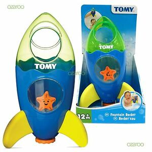New-Tomy-TOMY-Bath-Toys-Fountain-Rocket-Toddler-Childrens-Bathtime-Fun-Toy-72357