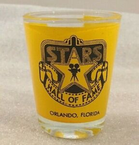 Stars-Hall-of-Fame-Orlando-FL-souvenir-yellow-shot-glass
