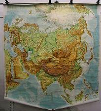 Scheda crocifissi Map Asia Asia Cina India Thailand Muro Carta 187x204cm POLO NORD