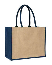 Laminated Jute Supermarket Bag (6 Colours)