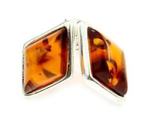 925-Sterling-Silver-amp-Baltic-Amber-Jewellery-GL037-Designer-Earrings