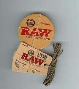 Raw-Rolling-Papers-Round-Pop-Tin-Hemp-Wick-MAKE-YOUR-OWN-DIY-KIT-DISPENSER