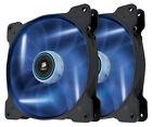 Corsair Air Series Sp140 LED Blue PC Case 140mm Fan Twin Pack