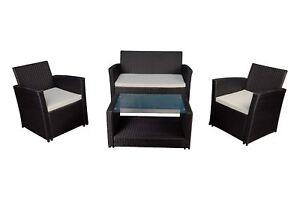 Modern-Outdoor-Patio-4-Piece-Wicker-Sofa-Furniture-Set-Black-amp-Ivory