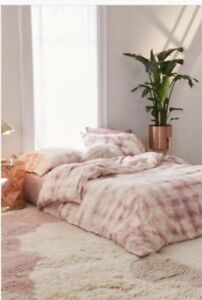 New Urban Outfitters Rose Overdyed Flannel Duvet Cover Twin Xl In Package Ebay