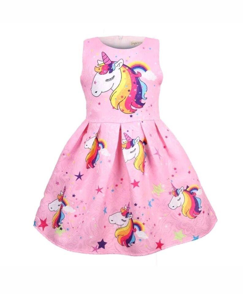 c187ac11523a ... Pige kjoler med LOL unicorn My little pony osv