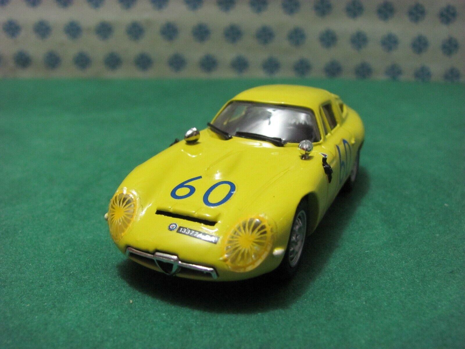 ALFA ROMEO Giulia TZ 1 Zagato Coupe 1600  t. Florio 1965  - 1 43 Best 9061