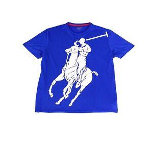 Polo Sport Ralph Lauren Mens Short Sleeve Crewneck Graphic T-Shirt Top BHFO 8269