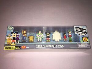 1x Disney Crossy Road Series 1 Mini Figures 7 pack NEW!