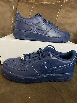 Nike Air Force 1 Low Independence Day GS SZ 6.5Y Midnight Navy AR0688 400 | eBay