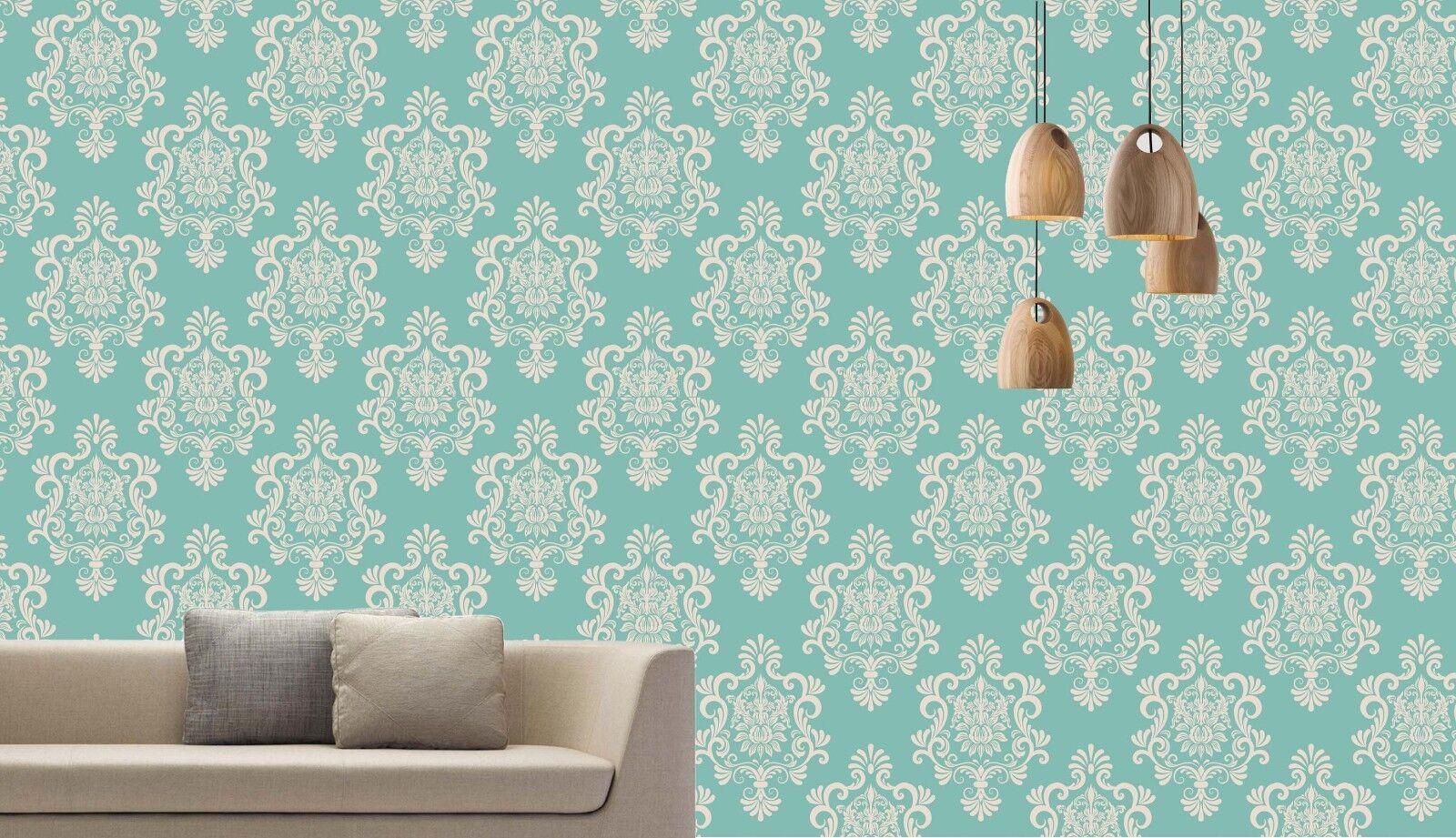 3D Grün Patterns 731 Wall Paper Print Wall Decal Deco Indoor Wall Murals US