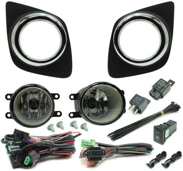 NEW! Auer Halogen Fog Light Kit For 2010-2012 Toyota RAV4