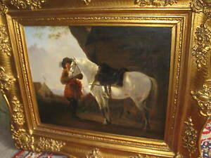 Voscher-Leopold-Heinrich-1830-Soldato-con-Cavallo-Prima-Podere