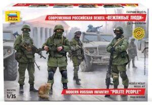 Zvezda-1-35-Masstab-Modern-Russische-Infanterie