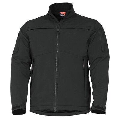 Pentagon Reiner 2.0 Soft Shell Tactical Urban Mens Security Guard Jacket Black