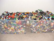 2 Pound Lot LEGO Bricks MIXED Parts Pieces Bulk lb BUY 4 get 1 POUND FREE STEM