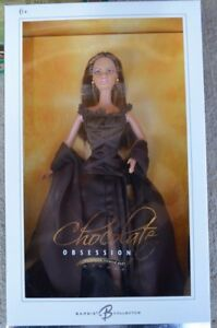 New-Barbie-Chocolate-Obsession-Silver-Label-Collector-2004