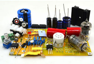 Details about DIY hifi PRT-01A 6J1 tube preamp kit /Stereo Vacuum tubes  preamplifier