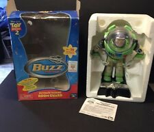 Toy Story 2 Buzz Lightyear Ultimate Talking Room Guard 35 Phrases In Box