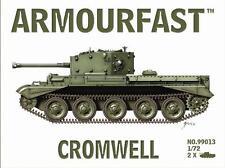 Armourfast 99013 1/72 WWII British Cromwell Cruiser Tank (2 Models)