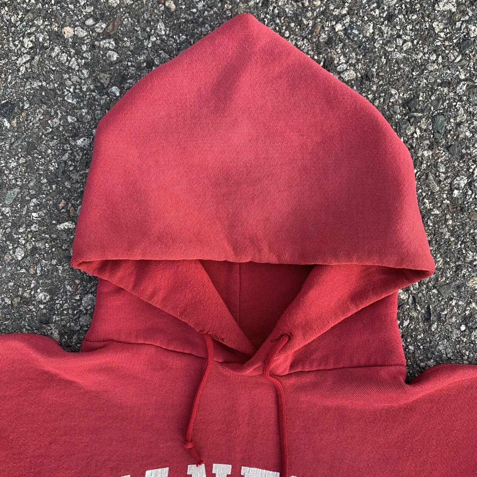 Vintage 70s Russell Athletic Hoodie Sweatshirt US… - image 2