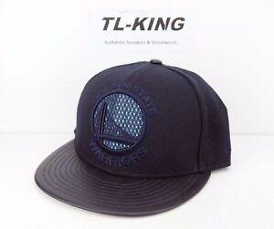 0aa9b8fd74743 New Era NBA Golden State Warriors 9FIFTY Strapback Adjustable Hat ...