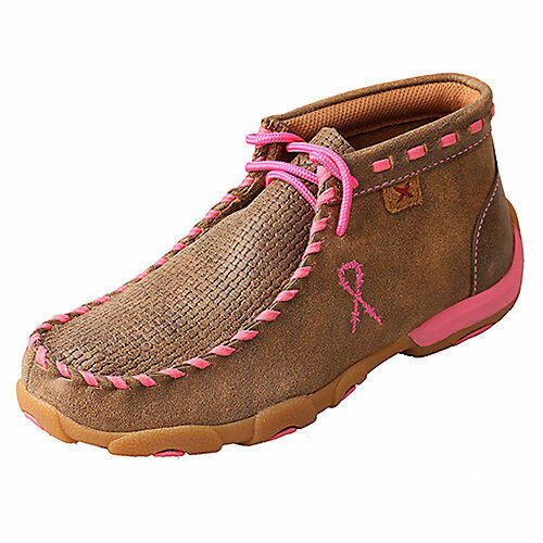 Twisted X Kids Bomb Neon Pink Driving Mocs
