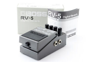 BOSS-RV-5-Digital-Reverb-w-Box-Manual-Excellent-Effect-Pedal-Used-In-Japan
