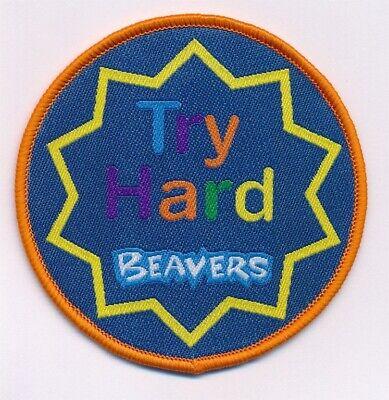 CASTORS essayer dur badge castor Fun insigne uniforme officiel nouveau