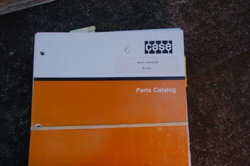 Ditcher Maletín Partes Catalog Arado Repuesto Manual Trinchera Zapatillas Maxi qgr0Fg6