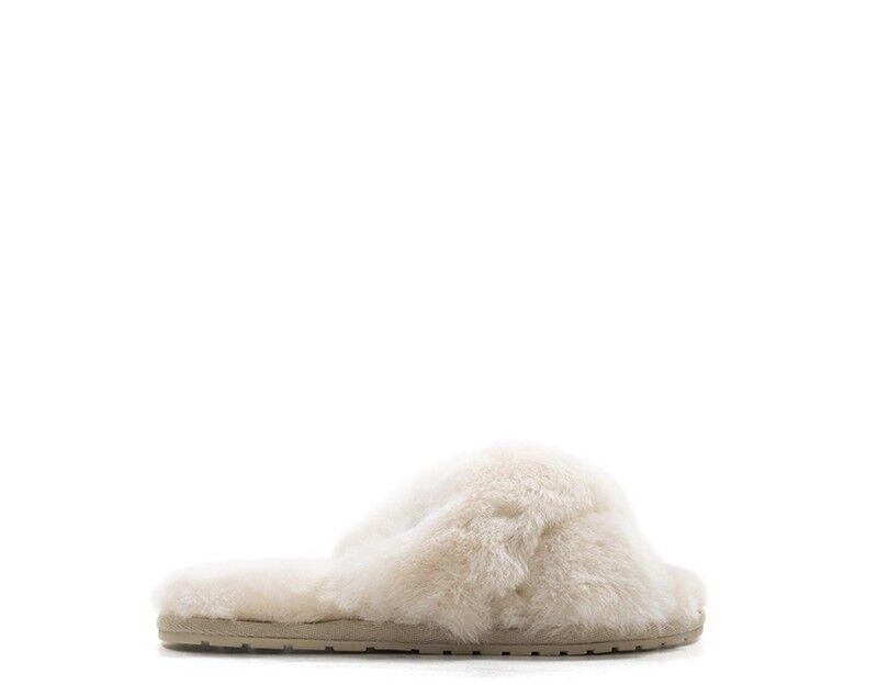 chaussures EMU femmes CIABATTE  rose Pelliccia W11573-E023