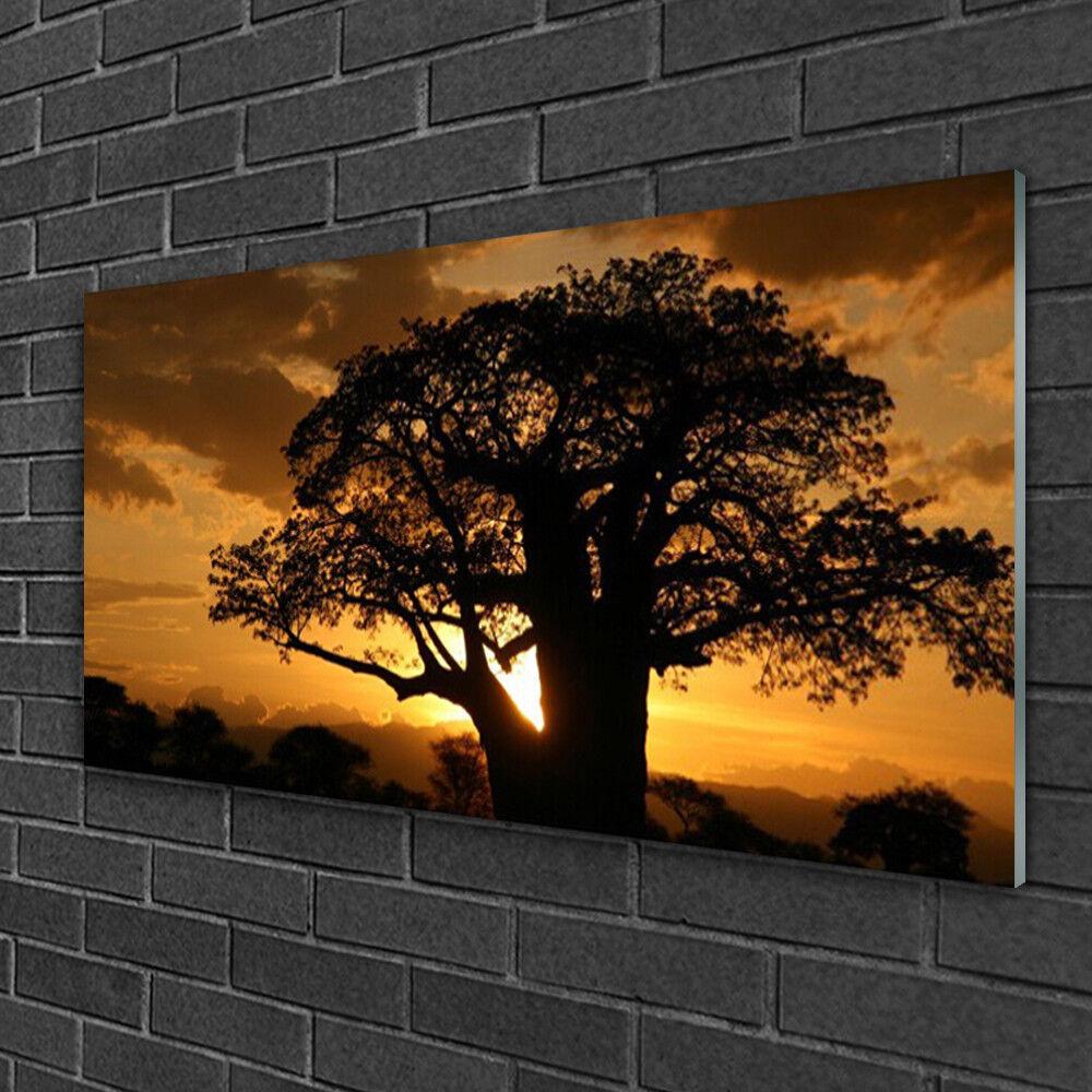 Wandbilder aus Plexiglas® 100x50 Acrylglasbild Baum Natur