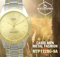 Casio Standard Analog Watch MTP1128G-9A