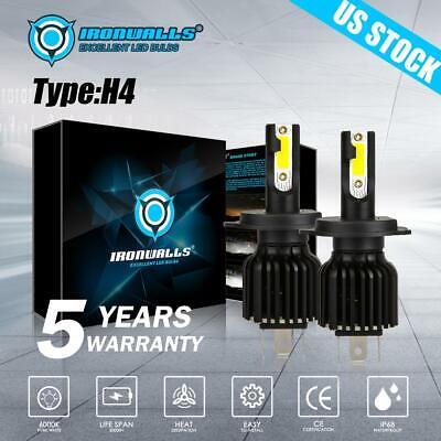 2x 9006 HB4 LED Headlight Bulb Kit Low Beam 6000K 2200W 330000LM White Light