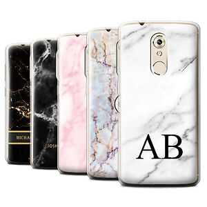 buy online 992cd 6fcb7 Details about Personalised Custom Marble Case for ZTE Axon 7 Mini/Initial  Gel/TPU Cover