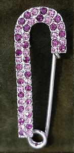 Spilla-da-balia-c-cristalli-swarovski-viola-ametista-sciarpa-foulard-cm-6-5x2
