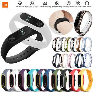 Xiaomi Mi Band 2 Heart Smart Watch Band Soft Silicone Strap Wristband Bracelet