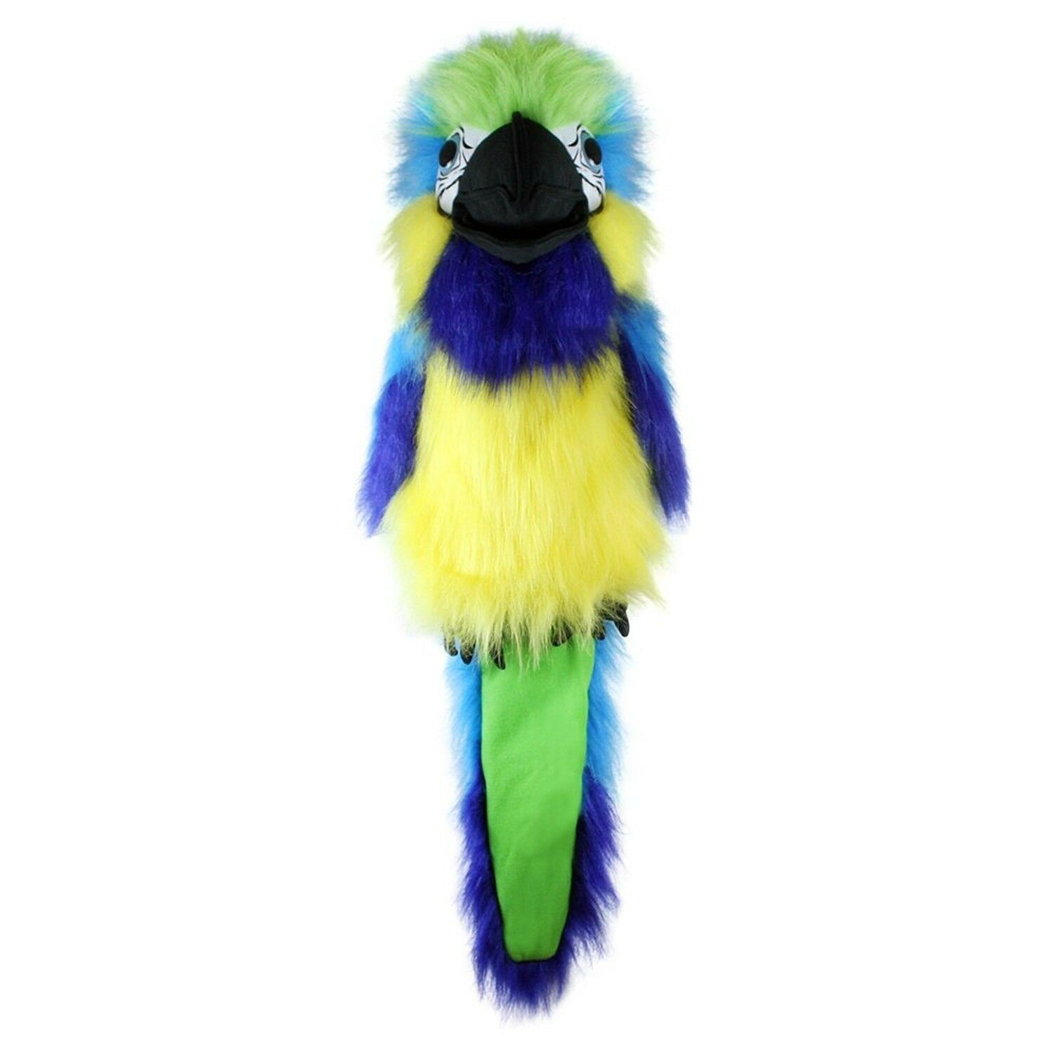 The Puppet Company - Large Birds - Blau & Gold Macaw Hand Puppet